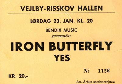 Musikfotos - Iron Butterfly Yes