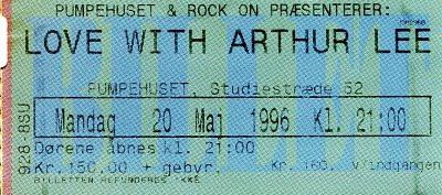Musikfotos - Love Arthur Lee 1996