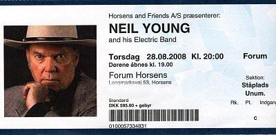 Musikfotos - Neil Young 2008
