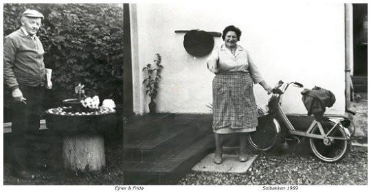 Ejnar og Frida Solbakken 1969